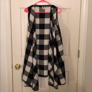 Jackets & Blazers - Cute Plaid Vest